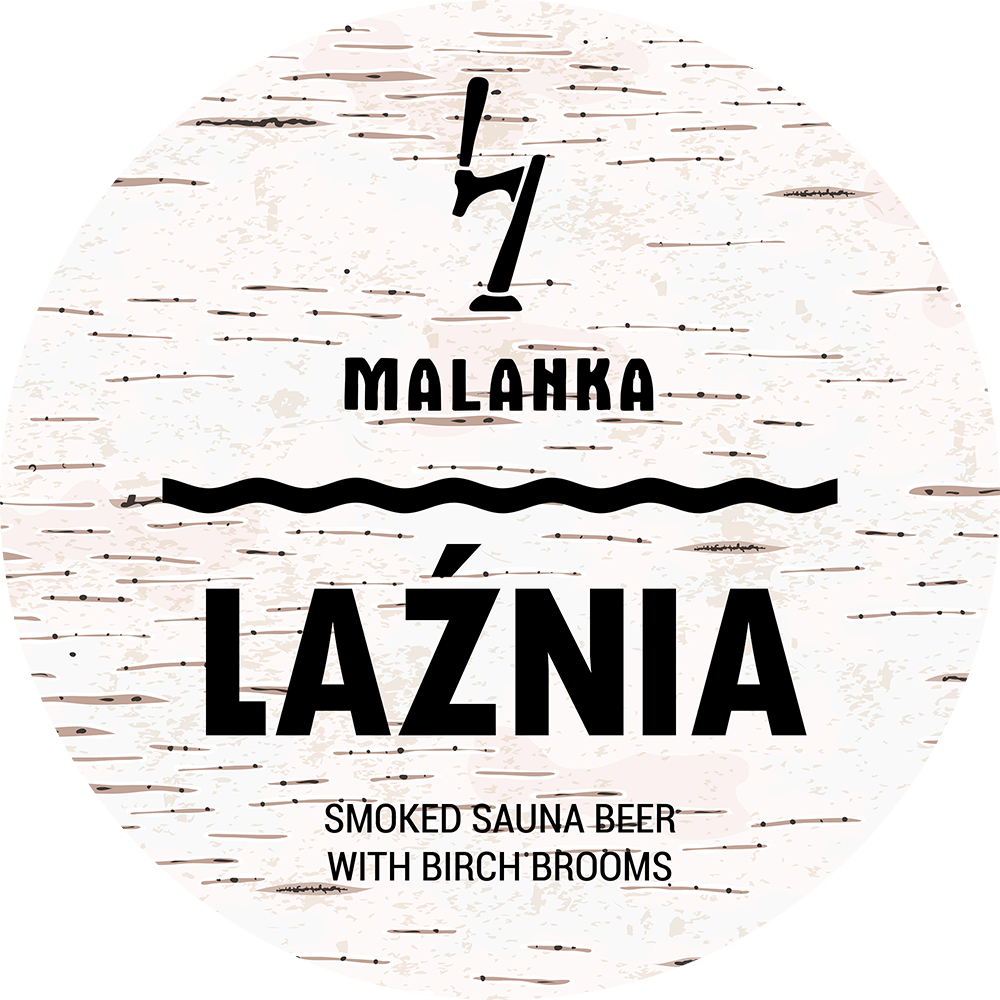 Smoked Sauna Beer with Birch Brooms